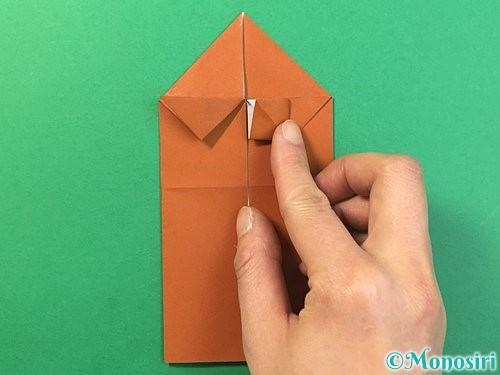 折り紙で立体的なクワガタの折り方手順18
