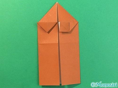 折り紙で立体的なクワガタの折り方手順19