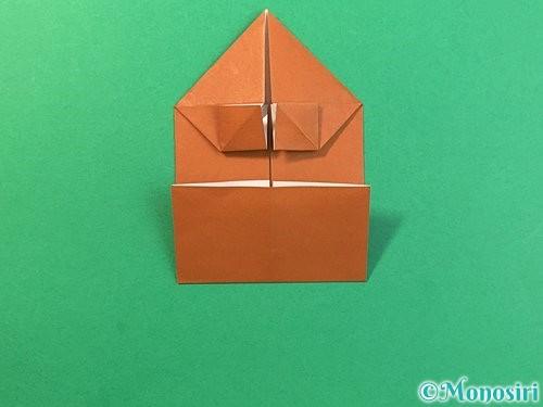 折り紙で立体的なクワガタの折り方手順22