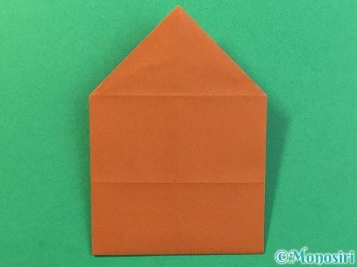 折り紙で立体的なクワガタの折り方手順23
