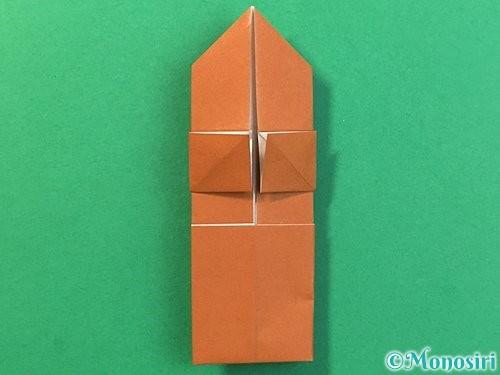折り紙で立体的なクワガタの折り方手順26