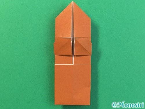 折り紙で立体的なクワガタの折り方手順28
