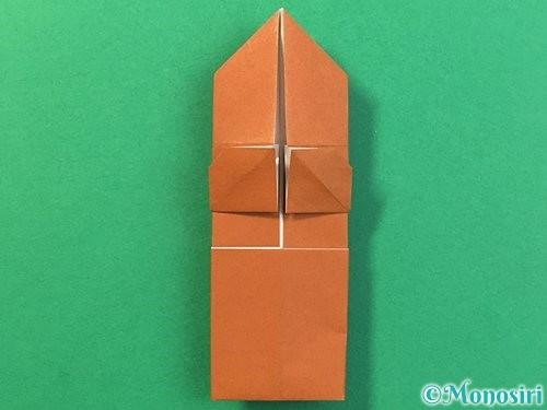 折り紙で立体的なクワガタの折り方手順30