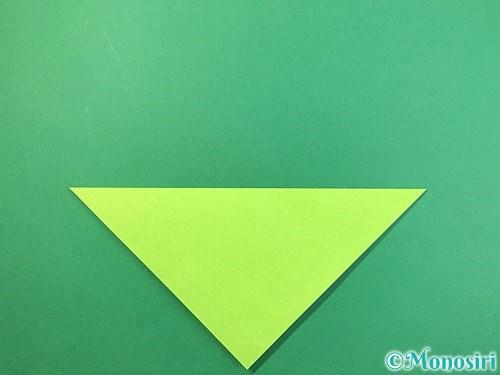 折り紙でバッタの折り方手順2