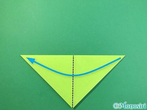 折り紙でバッタの折り方手順3