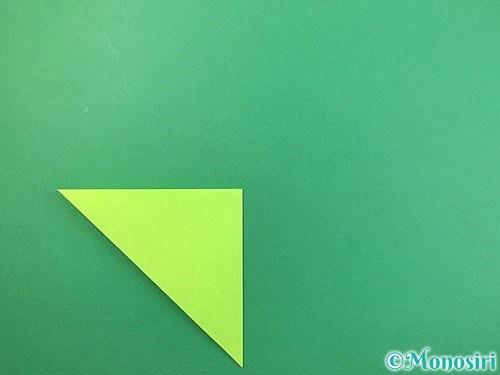 折り紙でバッタの折り方手順4