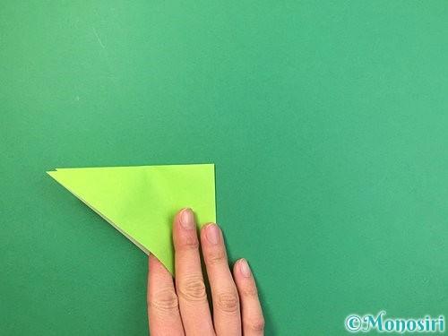 折り紙でバッタの折り方手順5