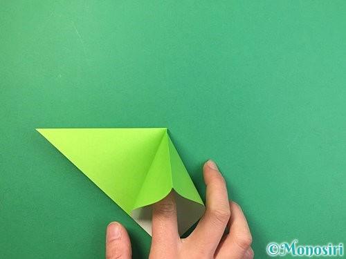 折り紙でバッタの折り方手順6