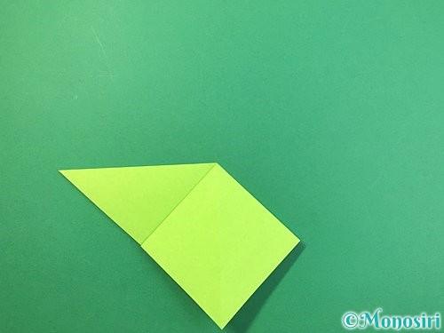 折り紙でバッタの折り方手順8