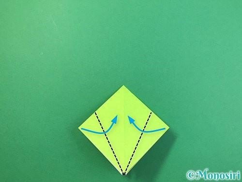 折り紙でバッタの折り方手順10