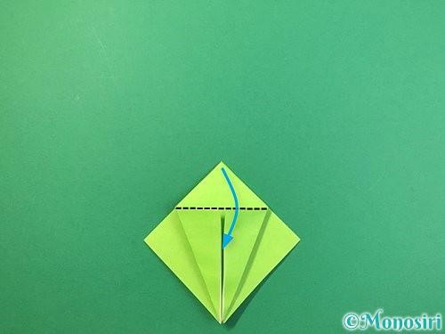 折り紙でバッタの折り方手順12