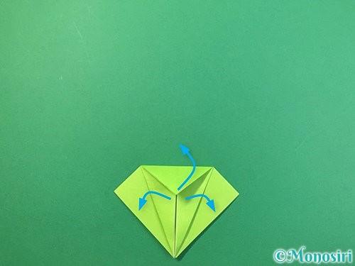 折り紙でバッタの折り方手順14
