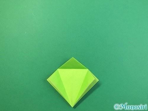 折り紙でバッタの折り方手順15