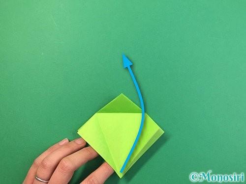 折り紙でバッタの折り方手順16