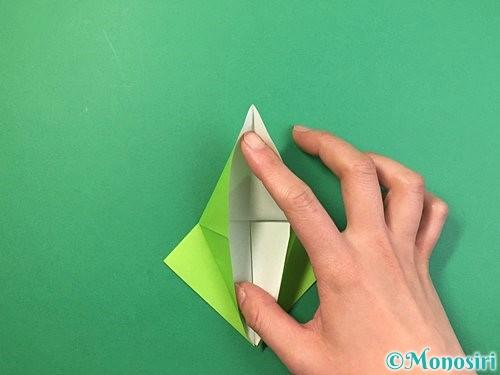 折り紙でバッタの折り方手順17