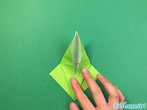 折り紙でバッタの折り方手順18