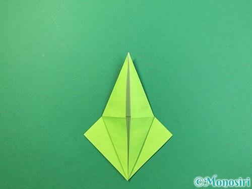 折り紙でバッタの折り方手順19
