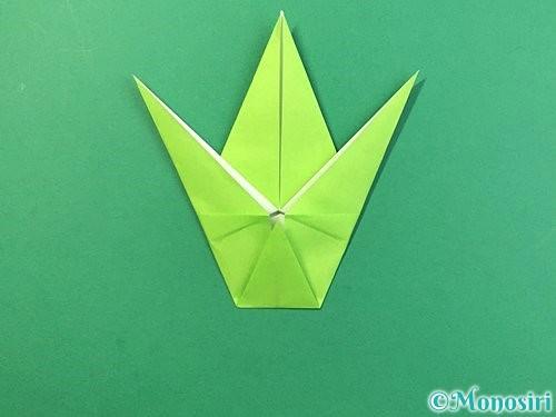 折り紙でバッタの折り方手順25