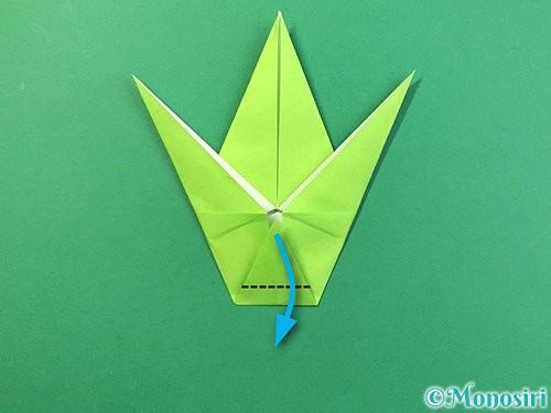 折り紙でバッタの折り方手順26