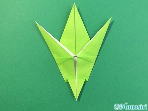 折り紙でバッタの折り方手順27