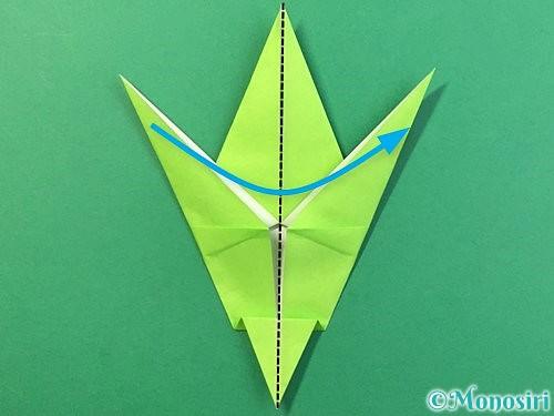 折り紙でバッタの折り方手順28