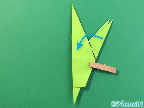 折り紙でバッタの折り方手順30