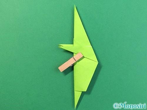 折り紙でバッタの折り方手順33