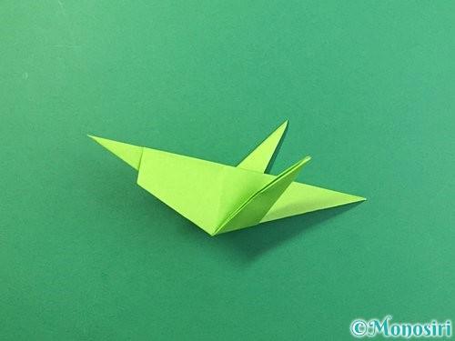 折り紙でバッタの折り方手順34