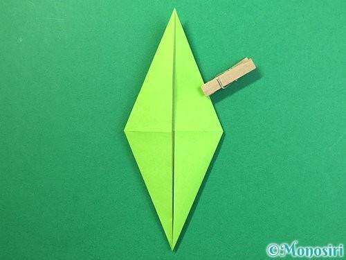 折り紙でバッタの折り方手順20