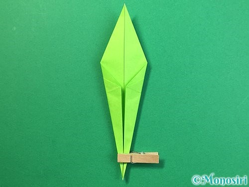 折り紙でバッタの折り方手順23