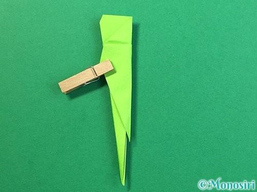 折り紙でバッタの折り方手順29