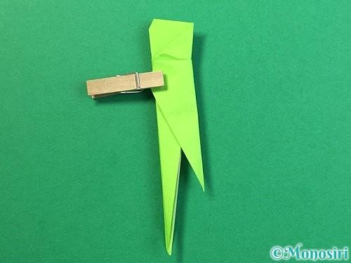 折り紙でバッタの折り方手順31