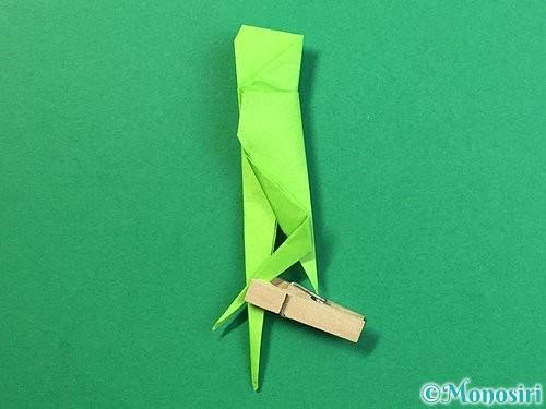 折り紙でバッタの折り方手順35