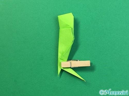 折り紙でバッタの折り方手順36