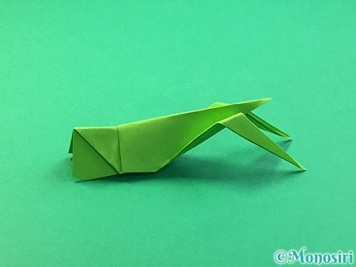 折り紙でバッタの折り方手順37