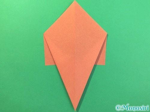折り紙でソフトクリームの折り方手順7