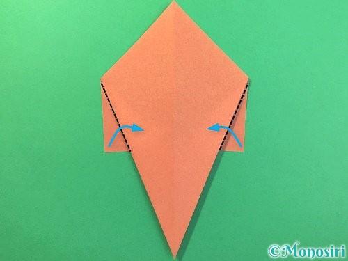 折り紙でソフトクリームの折り方手順8