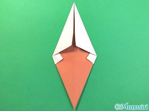 折り紙でソフトクリームの折り方手順11