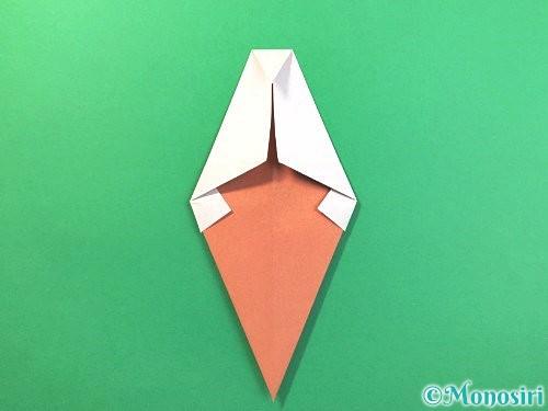 折り紙でソフトクリームの折り方手順13