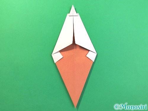 折り紙でソフトクリームの折り方手順15