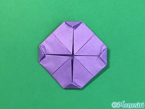 折り紙で睡蓮(蓮の花)の折り方手順11