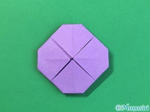 折り紙で睡蓮(蓮の花)の折り方手順12