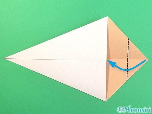 折り紙でうさぎの折り方手順5