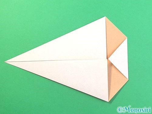 折り紙でうさぎの折り方手順6