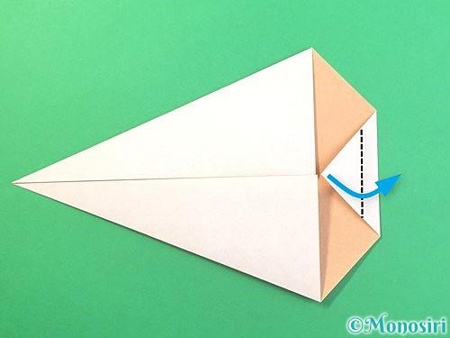 折り紙でうさぎの折り方手順7