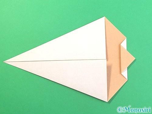 折り紙でうさぎの折り方手順8