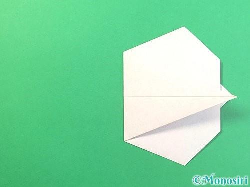 折り紙でうさぎの折り方手順11
