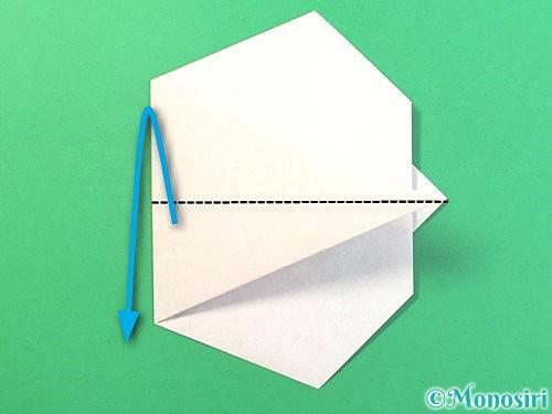 折り紙でうさぎの折り方手順12