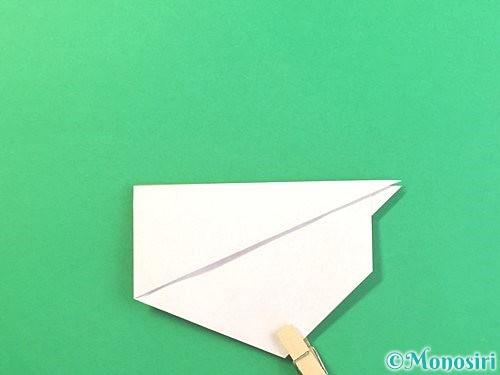 折り紙でうさぎの折り方手順13