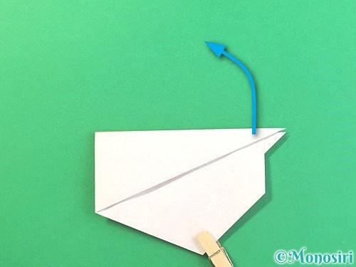 折り紙でうさぎの折り方手順14